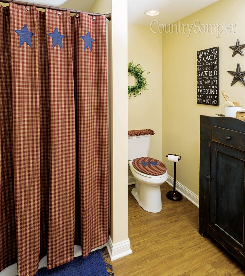 Matching Shower Curtain And Vanity