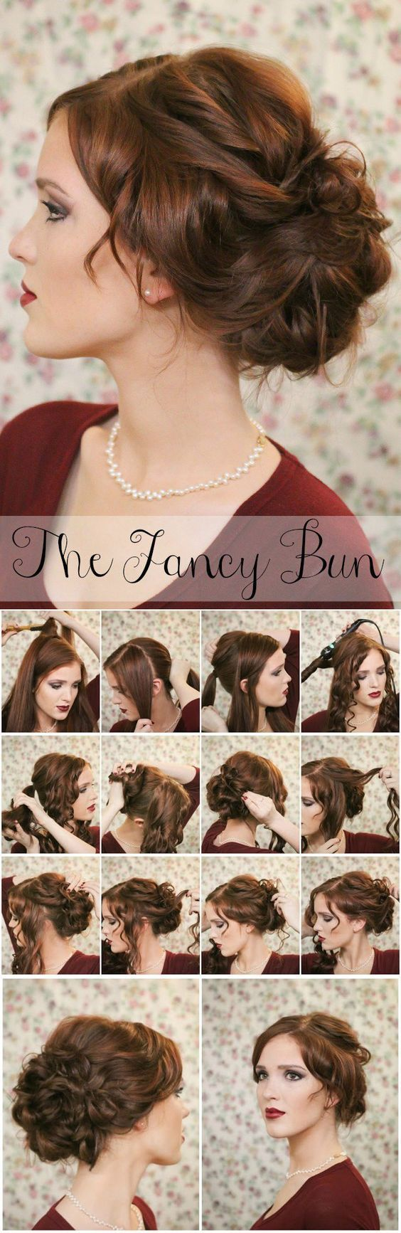 40 trendy victorian hairstyle tutorials to stay stylish and elegant hairstyle pretty knotted bun updo baditri Gallery