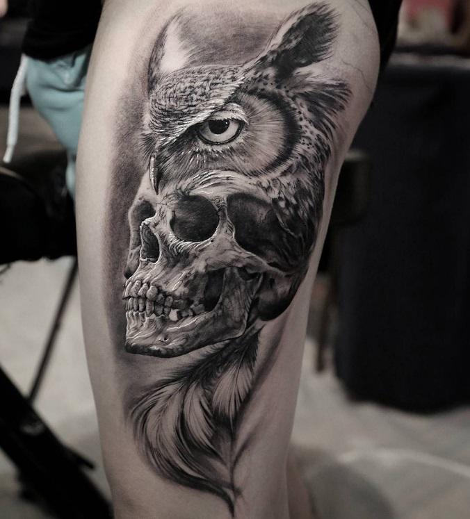 Forest Tattoo Design