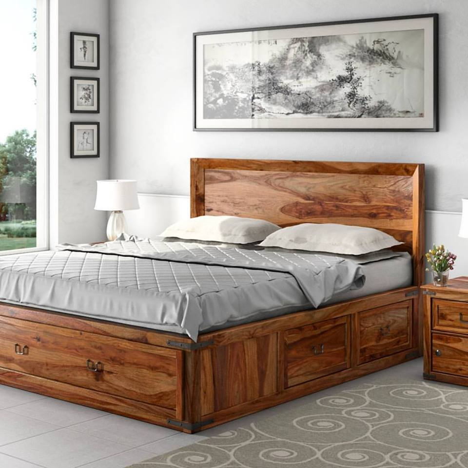 50 charming and rustic bedroom d cor for stylized living for Classic concepts furniture california
