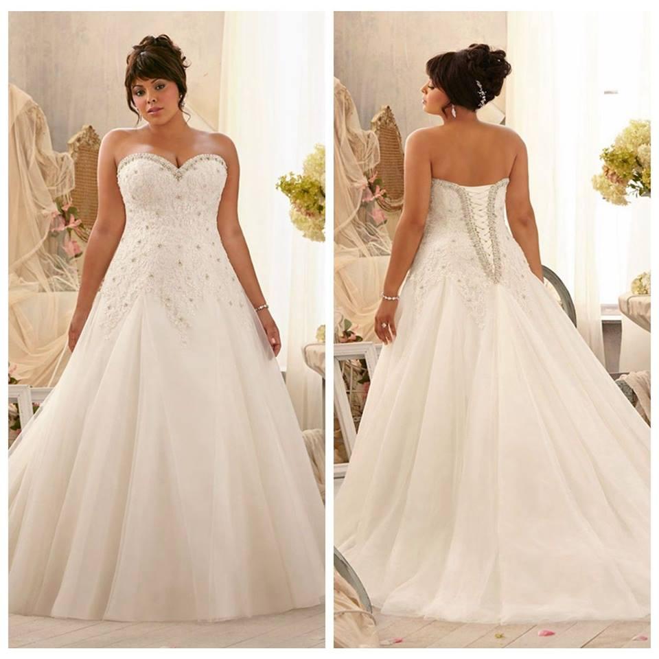 Empire Waist Wedding Gown 011 - Empire Waist Wedding Gown