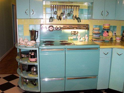 1950s Style Kitchen 50 smart and retro style kitchen ideas for that different look