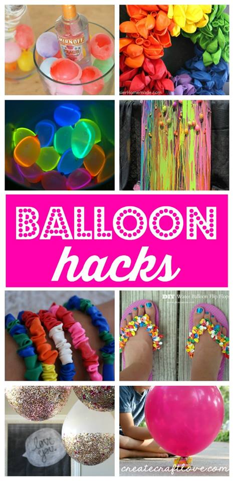 Amazing DIY Glitter Dipped Ballons