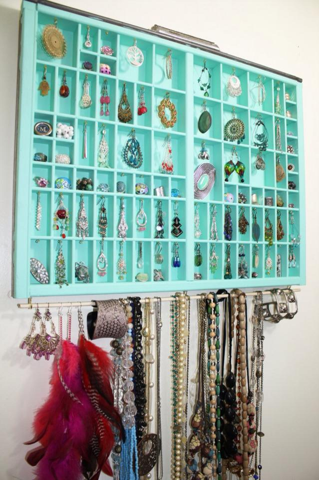 Amazing Idea To Store Jewelry