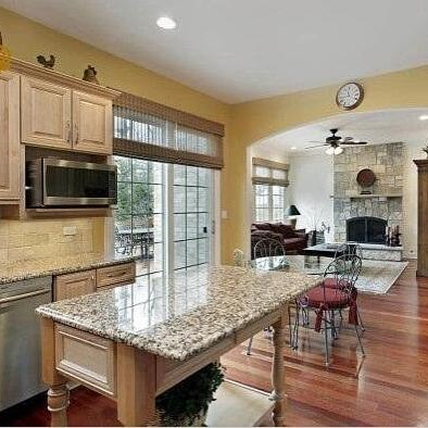 Amusing Gold Autumn Granite Kitchen Countertop