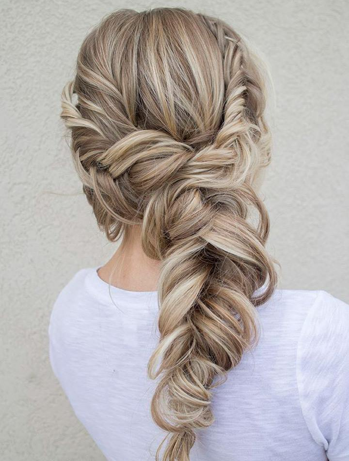 Awesome Multiple Braids To Give Loose Braid Stylish Look