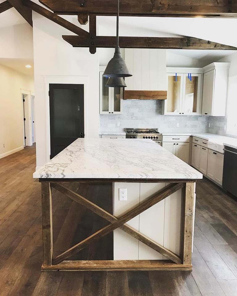 Kitchen Cabinets Island Shelves Cabinetry White Walnut Stone Modern Traditional Rustic Farmhouse: 35 Essential Kitchen Island Ideas When You Plan Kitchen Remodeling