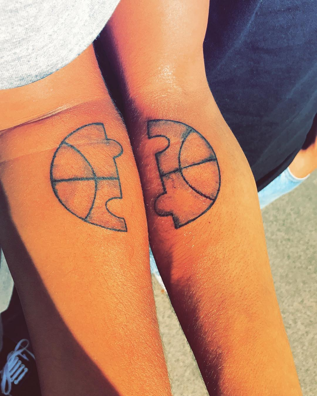 55 Super Cute Sibling Tattoos To Relive The Undying Bond Every Moment