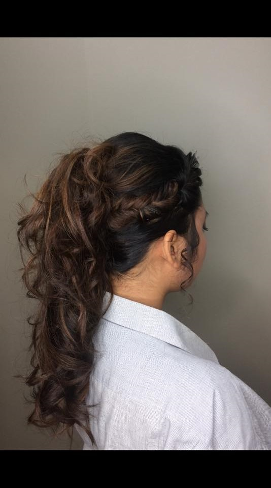 Braid With Long Ponytail
