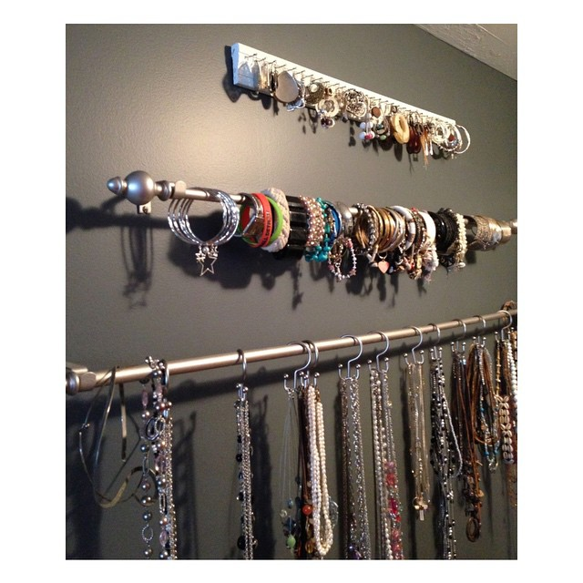Brillant Idea To Store And Display Your Jewelry