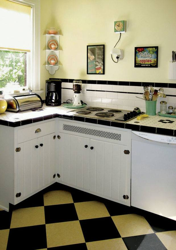 Nice Budgetry Retro Kitchen