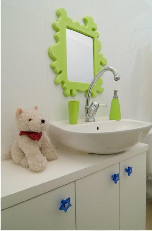 Charming Frame Mirror For Kids Bathroom