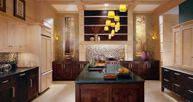 30 vibrant art deco style kitchen ideas to revamp your kitchen for Modern art deco kitchen design