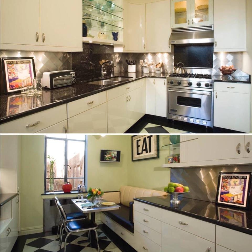 30 vibrant art deco style kitchen ideas to revamp your kitchen. Black Bedroom Furniture Sets. Home Design Ideas