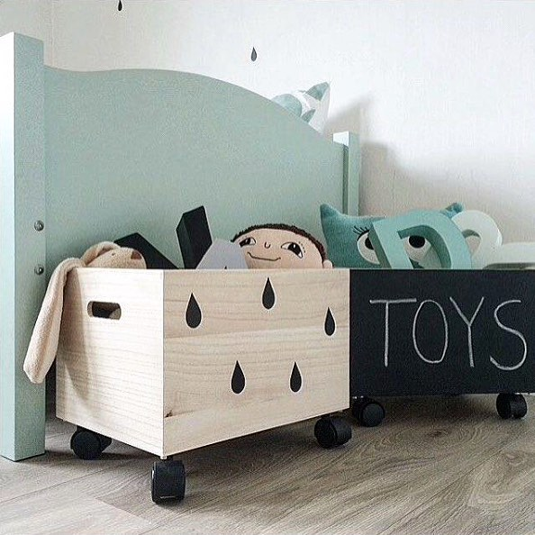 Creative Idea To Use Wall Decals And Chalkboard Decals To Diy Toy