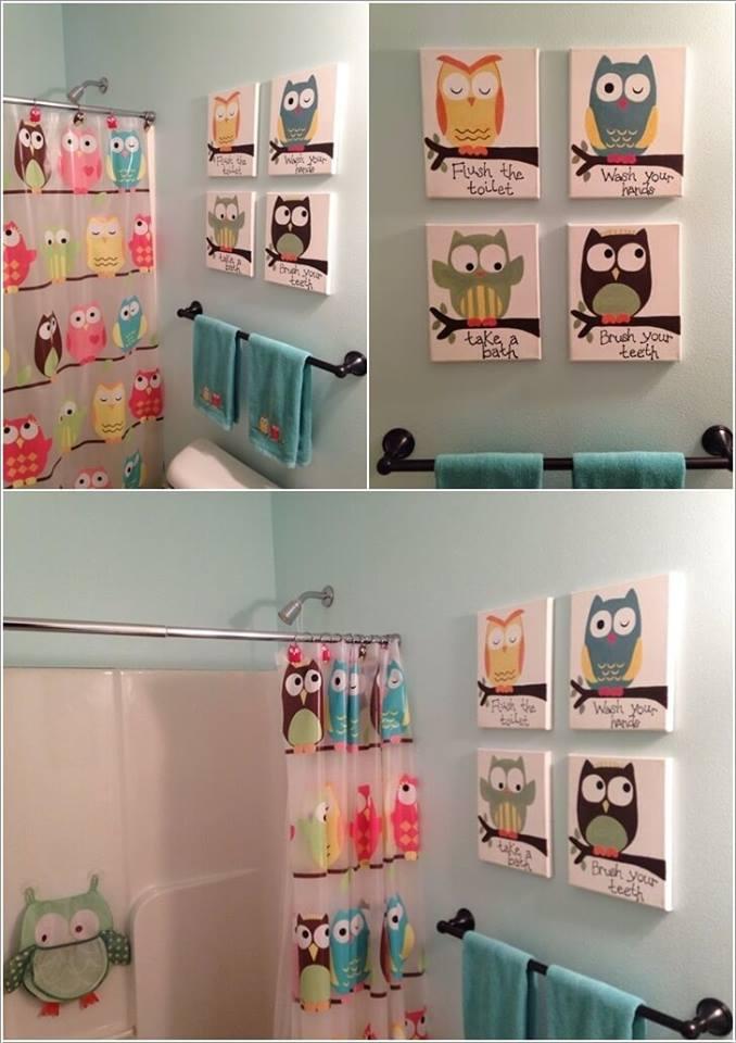 Cute Owl Wall Art