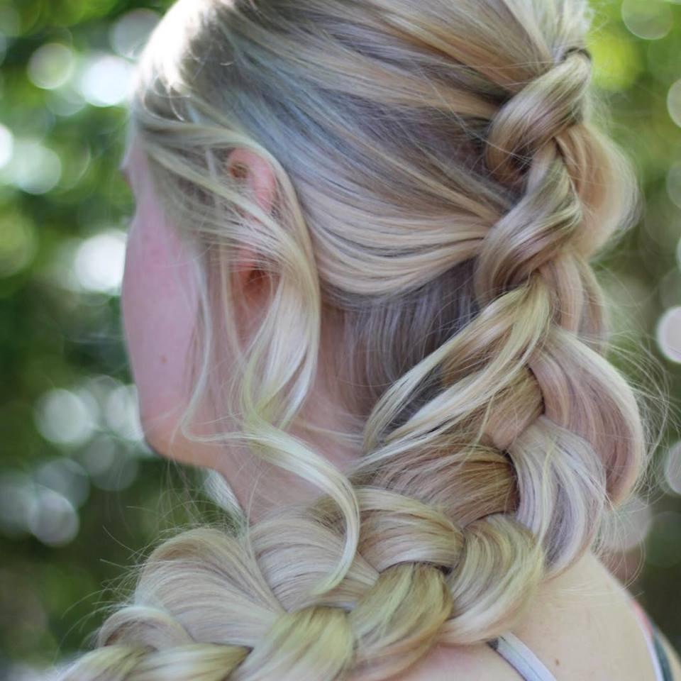 Dashing Loose Braid Hairstyle