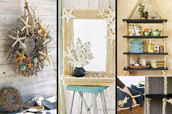 Dashing Rustic Mirror Decor