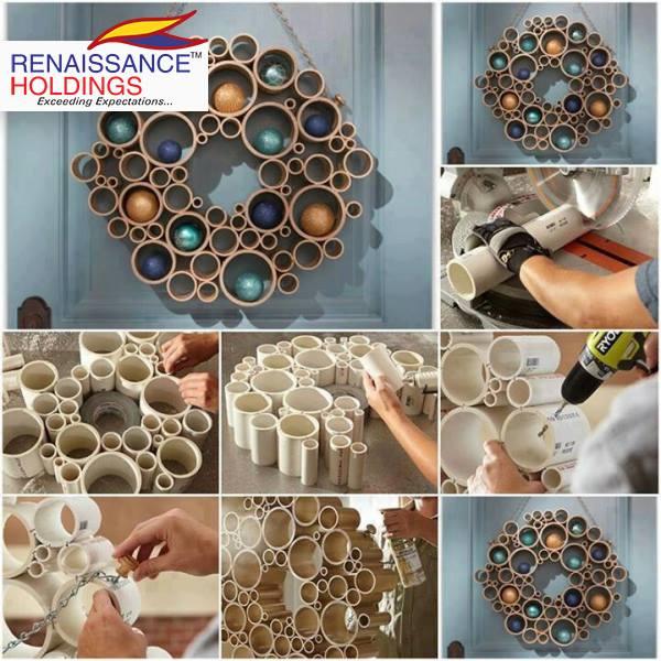 Easy Diy Home Decor Idea Using Plastic Pipes Blurmark
