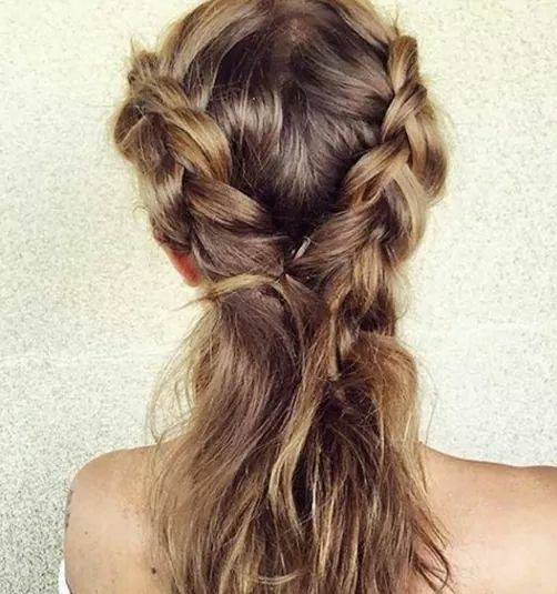 Eye Catching Braid To Ponytail