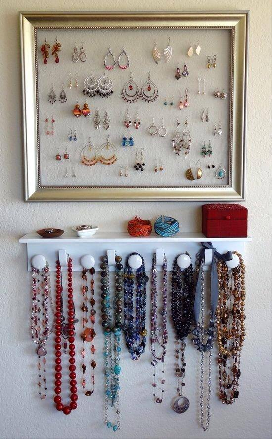 Fabulous Jewelry Storage Idea