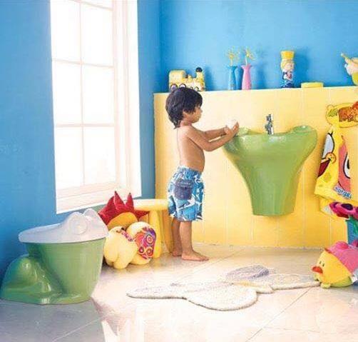 Funny Sanitaryware For Kids