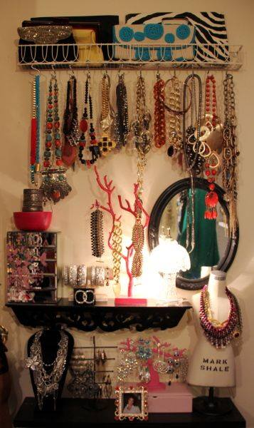 Genius Jewelry Storage Idea