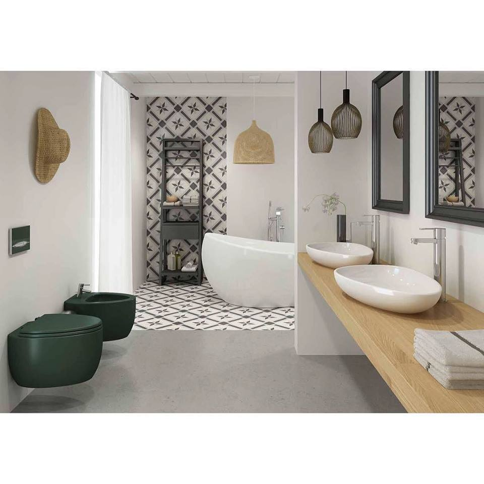 glamorous designer bathroom sinks. glamorous contemporary bathroom design with awesome wall paper, lights, dark green vanity and white designer sinks k