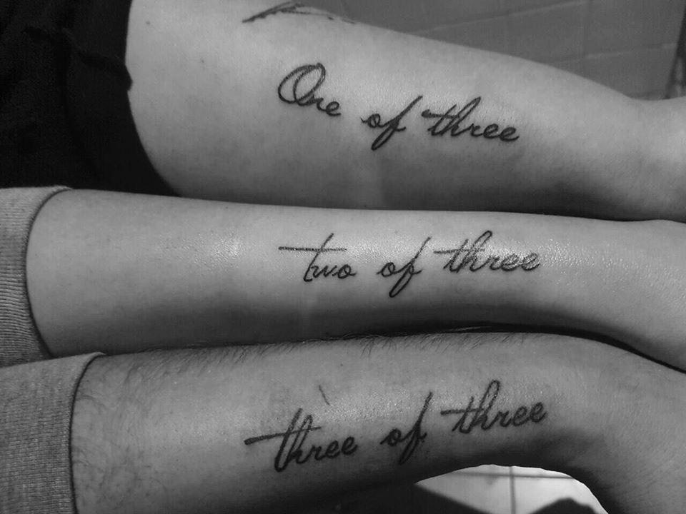 Gorgeous Sibling Tattoos