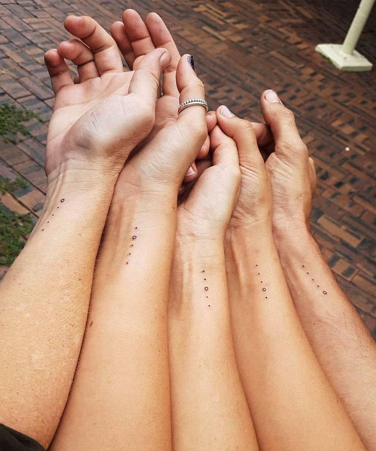 Impressive Sibling Tattoo Idea