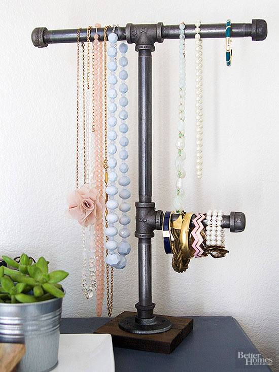 Industrial Idea To Organize Jewelry
