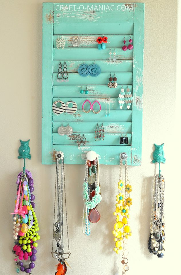 Innovative Idea For Jewelry Storage