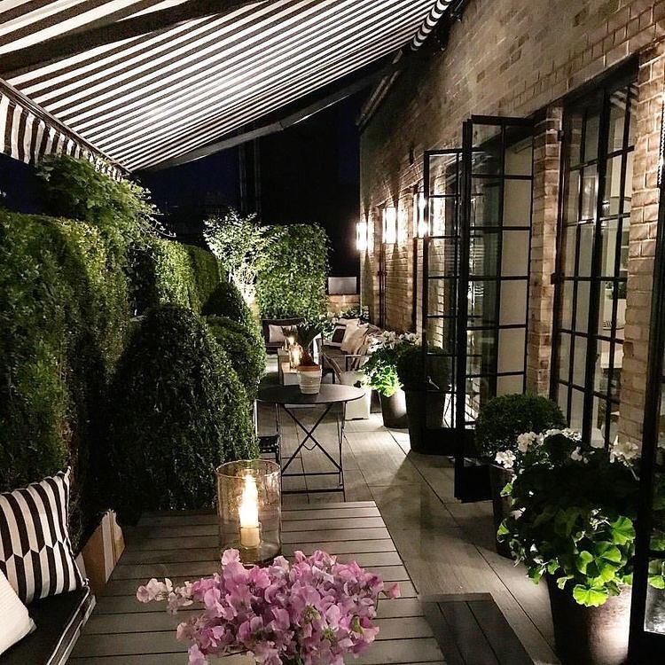 40 Lush Yet Well Trimmed Terrace Garden Ideas for a ...