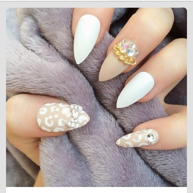 35 stylish stilettos nail art designs to flaunt with style marvelous stilettos nail design prinsesfo Gallery