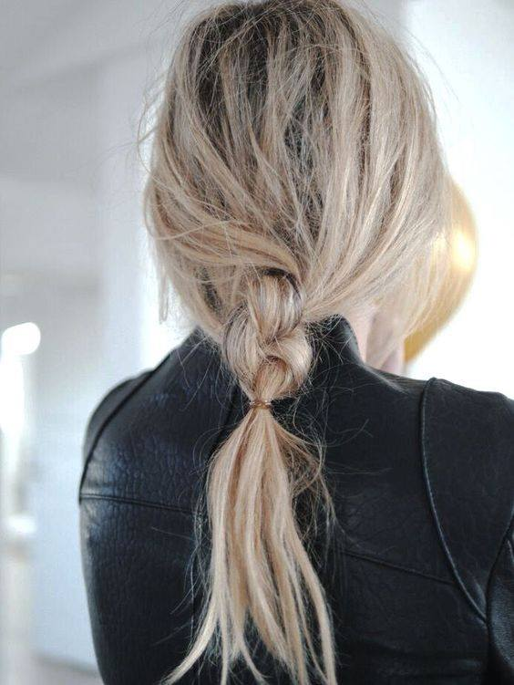 Messy Loose Braid Perfect For Holiday