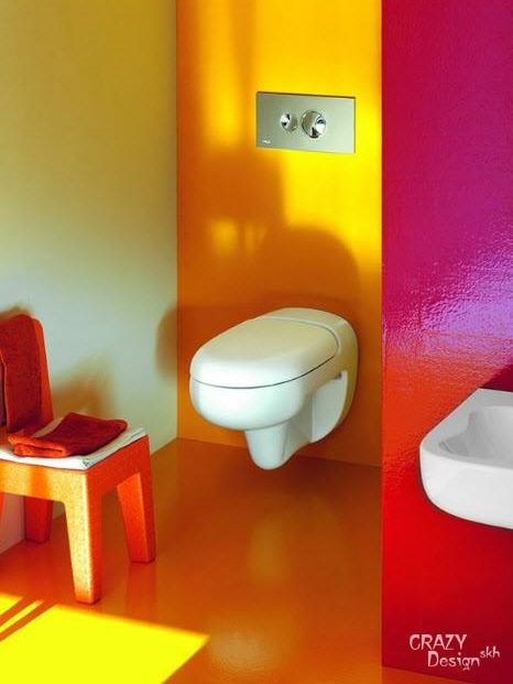 Mind Blowing Colored Bathroom For Your Lovely Kids