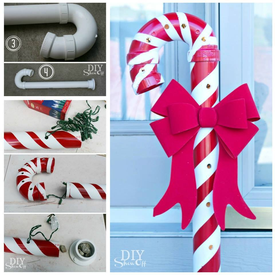Mind Blowing DIY PVC Candy Canes
