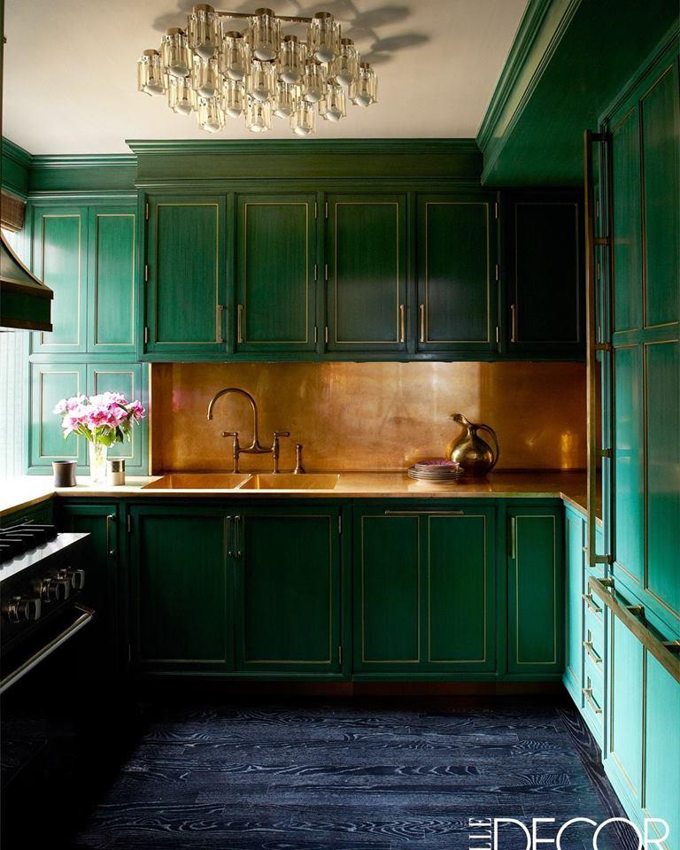 Art Deco Kitchen Cabinets: 30 Vibrant Art Deco Style Kitchen Ideas To Revamp Your Kitchen