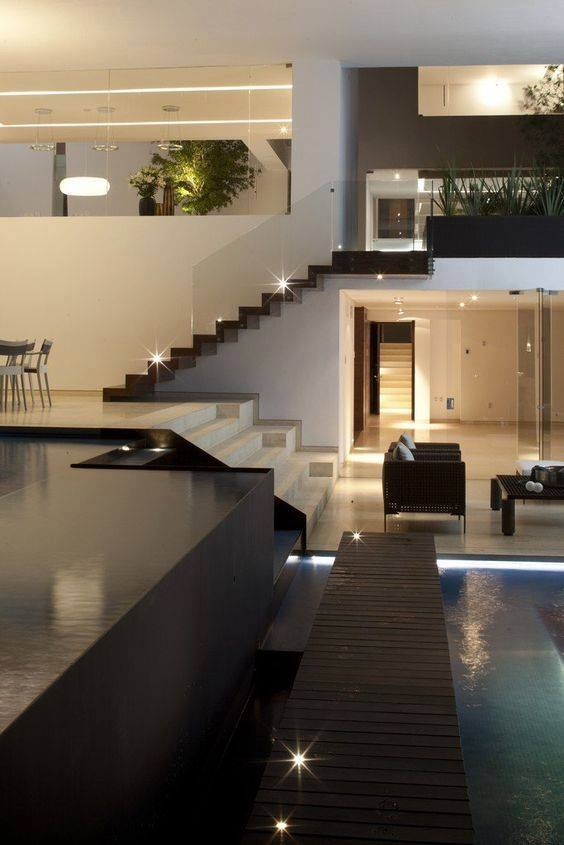 Modern Home Design With Indoor Pool