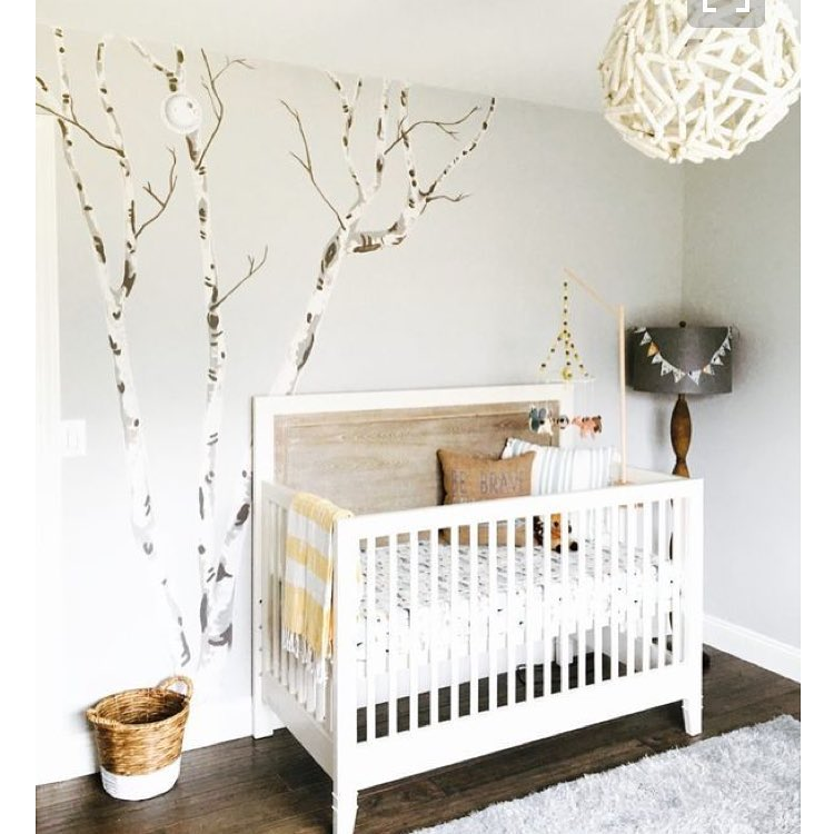 Natural Baby Nursery Design Reveal: 48 Fascinating Baby Boy Nursery Décor Ideas