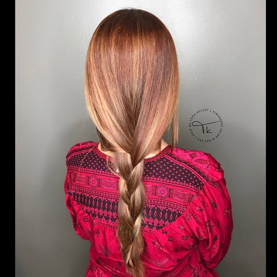 Plain Loose Braid Hairstyle