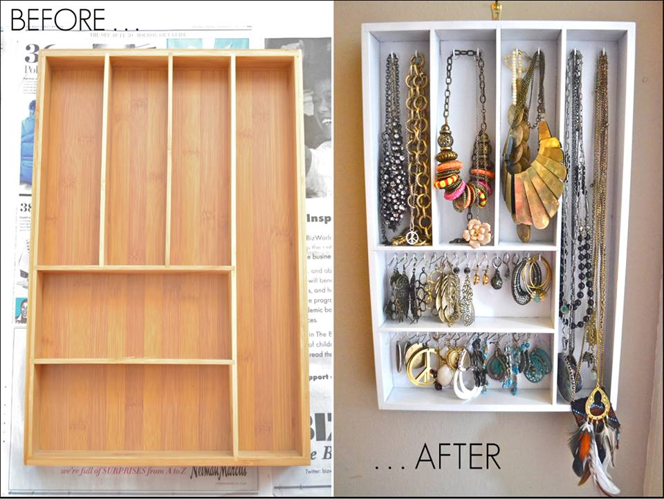 Pretty Idea To Store Jewelry