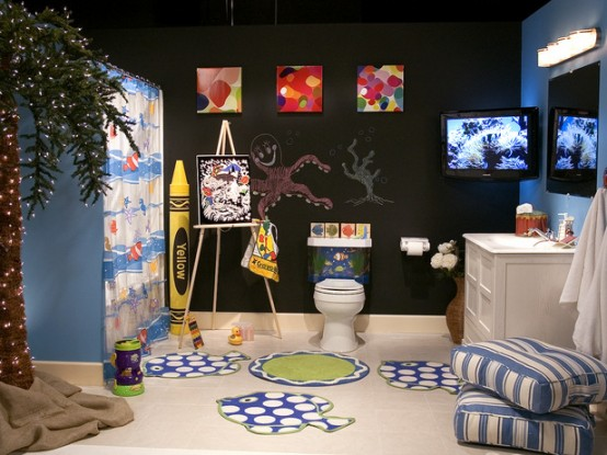 Revishing Kids Bathroom Design Idea