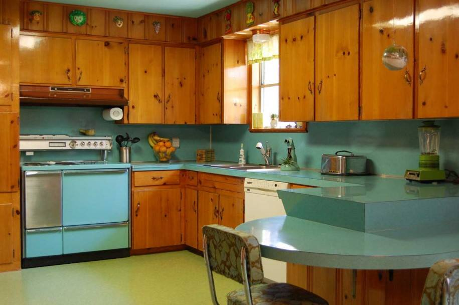 Image result for retro kitchen
