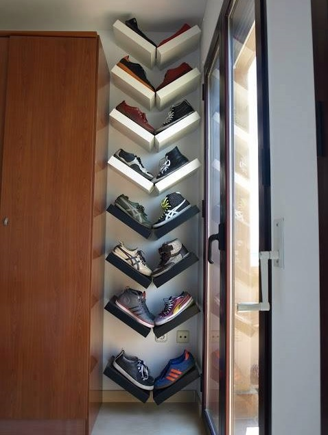 Smart Shoe Rack Idea