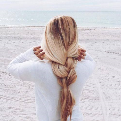 Stunning Loose Braid For Heavy Hairs