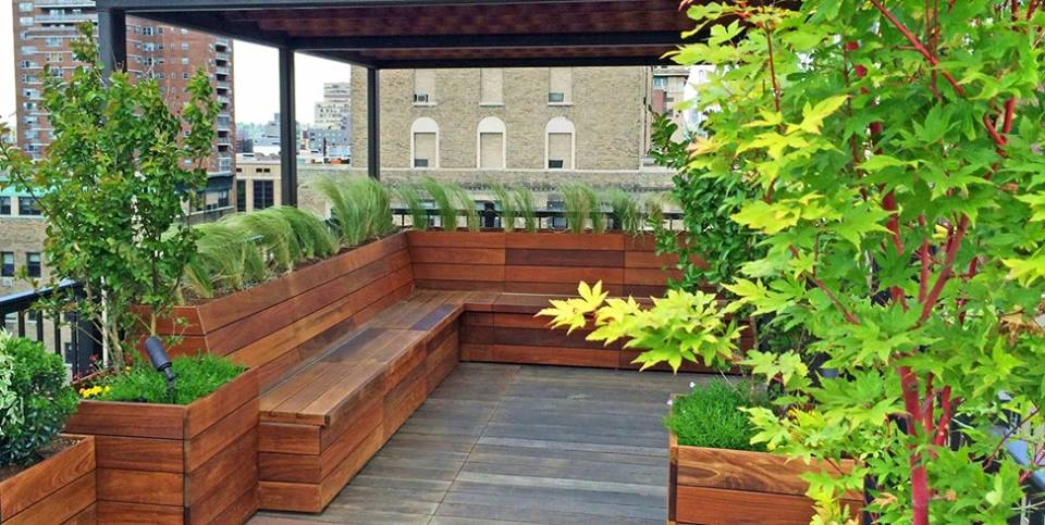 40 Lush Yet Well Trimmed Terrace Garden Ideas for a ...