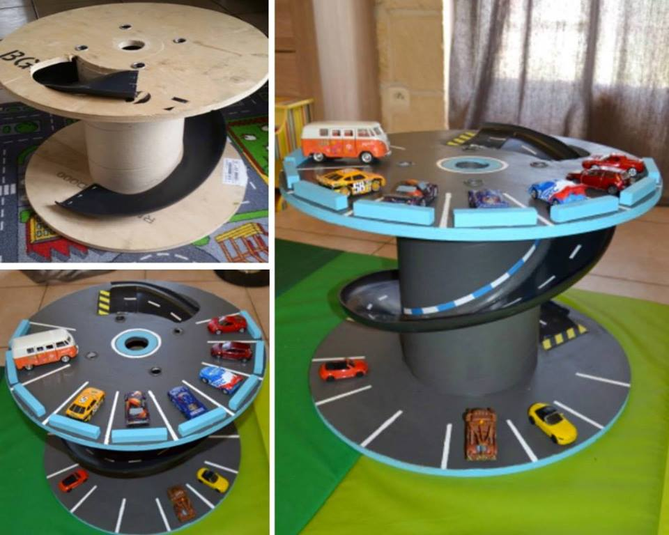 Unique Toy Car Storage Idea Blurmark