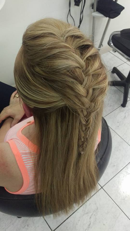 Upstyle Braid Idea