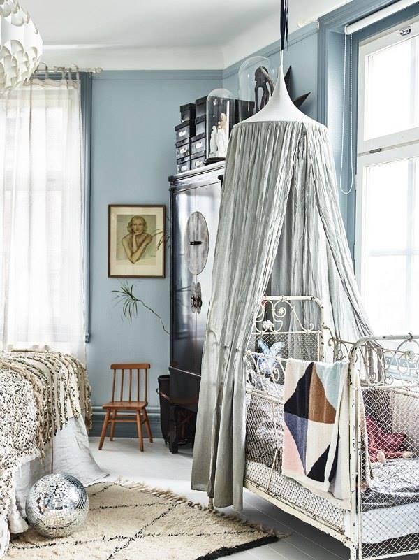 Vintage Boho Style Kids Room